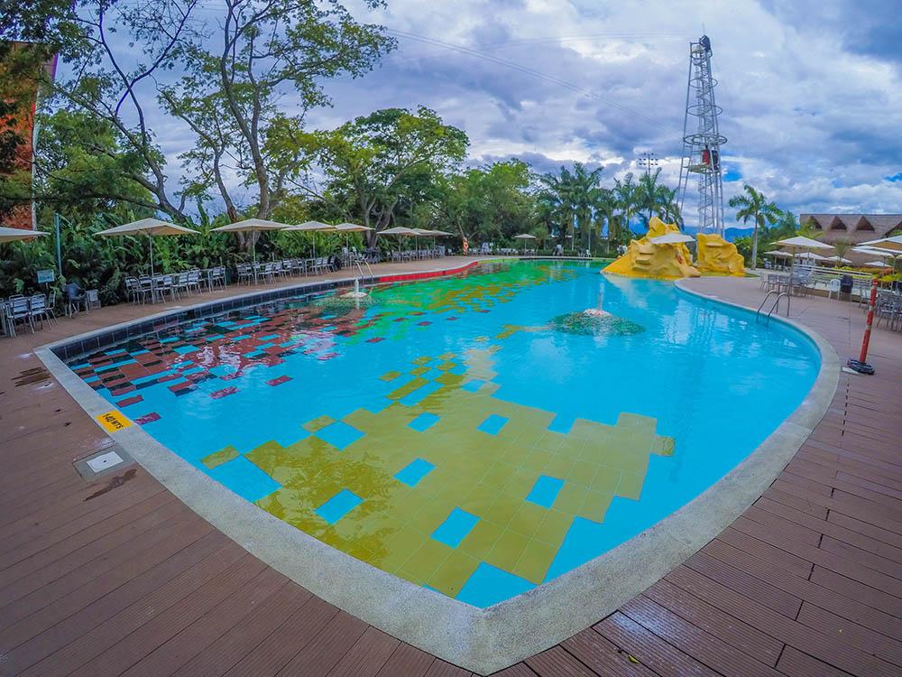 piscina jurásica club los lagos neiva comfamiliar huila